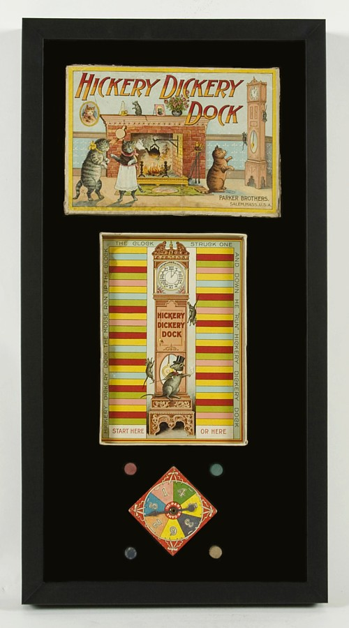 Elegant HICKORY DICKERY DOCK: EARLY PARKER BROTHERS BOARD GAME WITH GREAT CAT U0026  MOUSE AND TALL