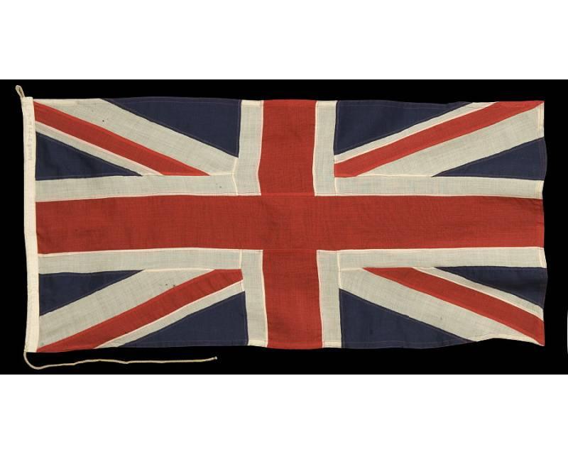 BRITISH UNION JACK, WWI WWII ERA (1914 1945)