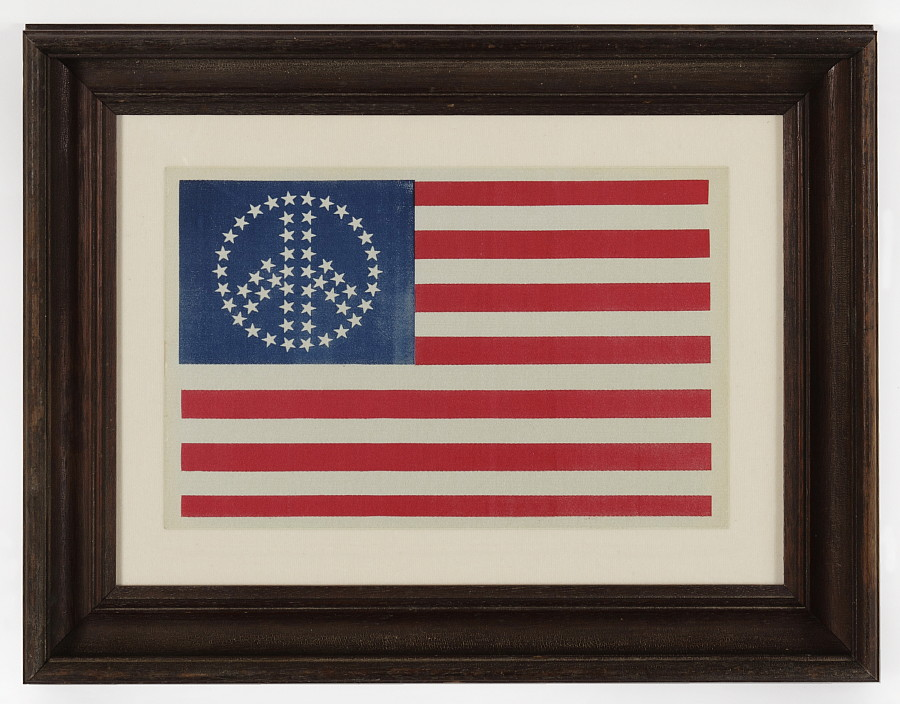 jeff bridgman antique flags and painted furniture 52 star american