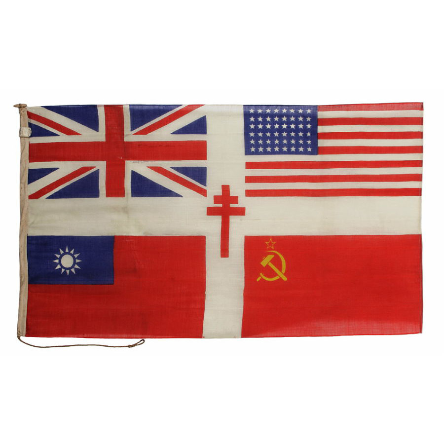 Jeff Bridgman Antique Flags And Painted Furniture Stunning Wwii