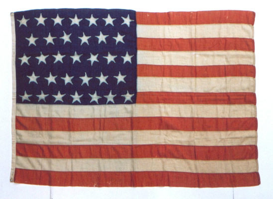 Jeff Bridgman Antique Flags And Painted Furniture 33