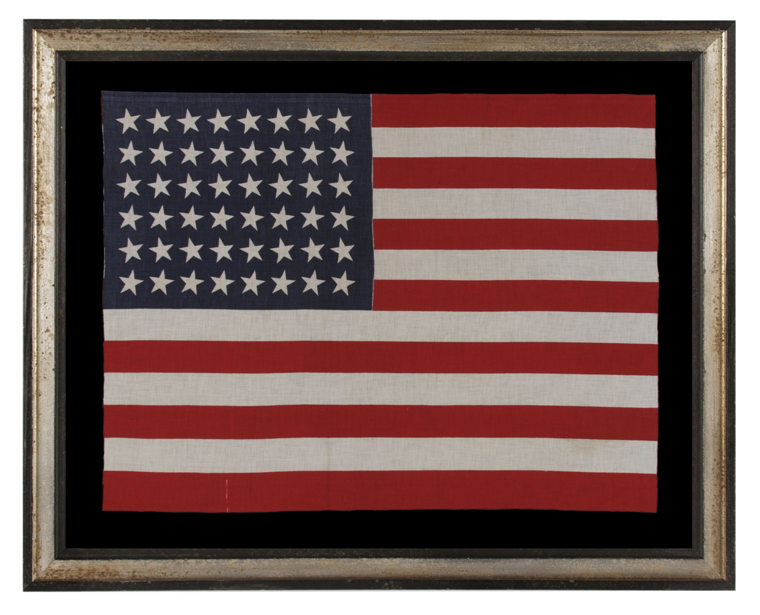 jeff bridgman antique flags and painted furniture 48 stars in