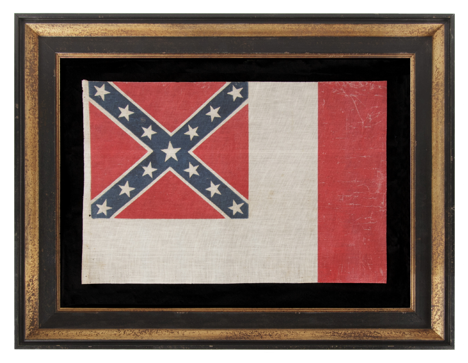jeff bridgman antique flags and painted furniture confederate flag