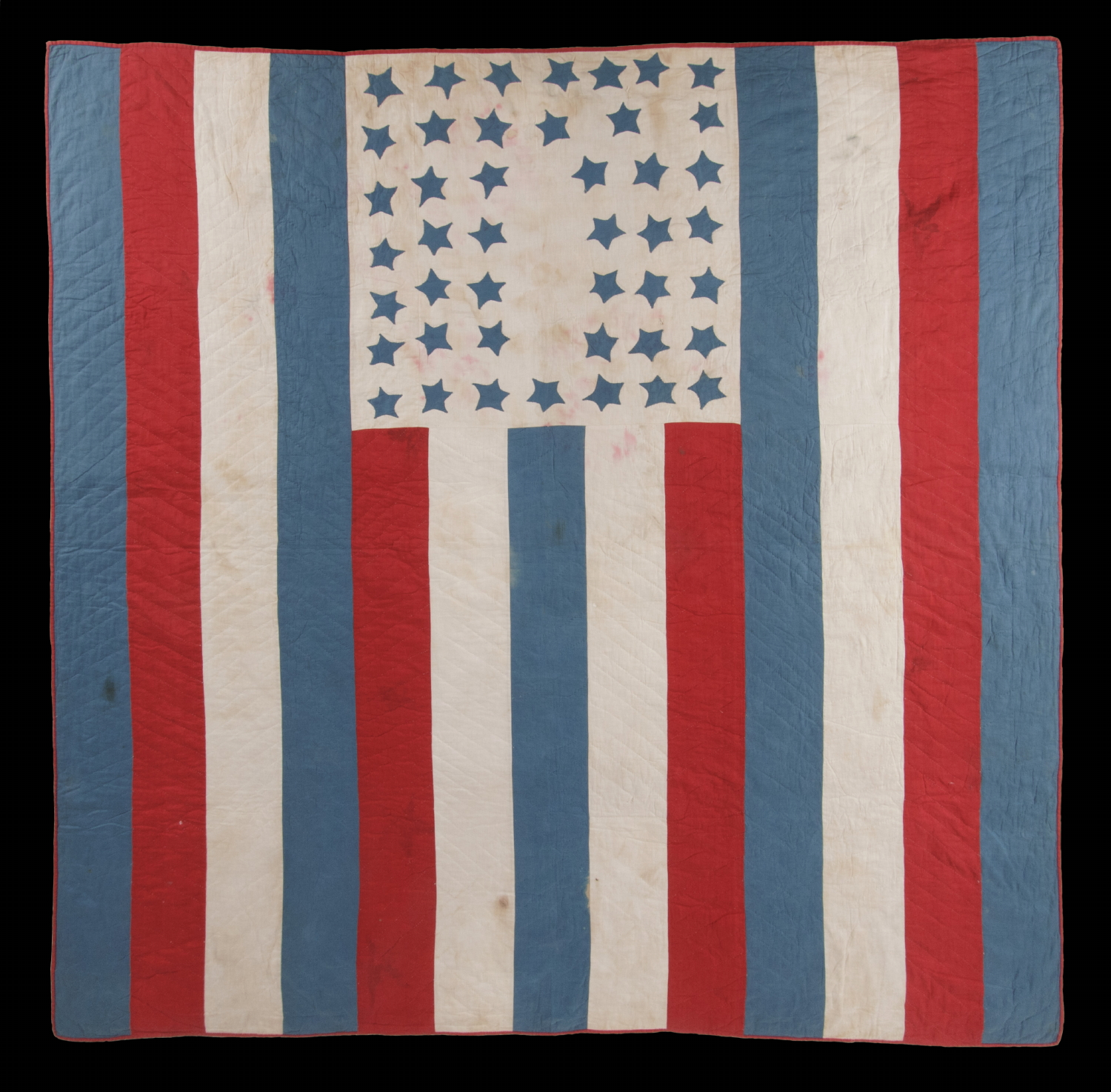Jeff Bridgman Antique Flags And Painted Furniture American