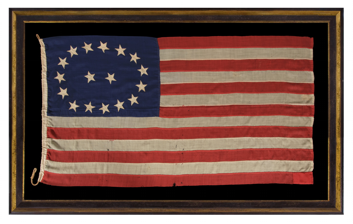 6705fef9e78 Jeff Bridgman Antique Flags and Painted Furniture - 17 STARS IN AN ...