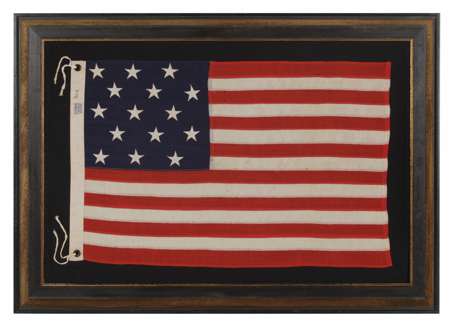 Jeff Bridgman Antique Flags and Painted Furniture - 15 STARS AND 15 ...