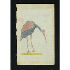 Lancaster County, Pennsylvania German Watercolor