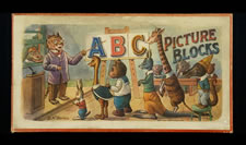 ABC PICTURE BLOCKS, 1870-90