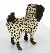 WHIMSICAL TOY DOG, 1880-1910