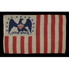 AMERICAN REVENUE CUTTER SERVICE ENSIGN BELONGING TO CAPTAIN WILLIAM HENRY BAGLEY (b. 1838, DURHAM, MAINE), A RARE AND FANTASTICALLY VISUAL EXAMPLE, MADE CA 1870-80