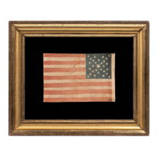 29 STARS IN A SPECTACULAR CROSS OR STARBURST MEDALLION, ONE-OF-A-KIND AMONG KNOWN EXAMPLES, PRE-CIVIL WAR, 1846-48, MEXICAN WAR PERIOD, REFLECTS THE ADDITION OF IOWA AS THE 29TH STATE
