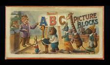 ABC PICTURE BLOCKS, 1870-90