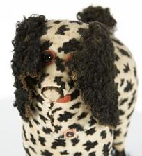 WHIMSICAL TOY DOG, 1880-1910