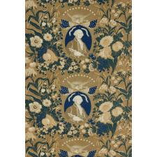 EARLY YARD GOODS TEXTILE MEMORIALIZING GEORGE WASHINGTON, CIRCA 1824-1830